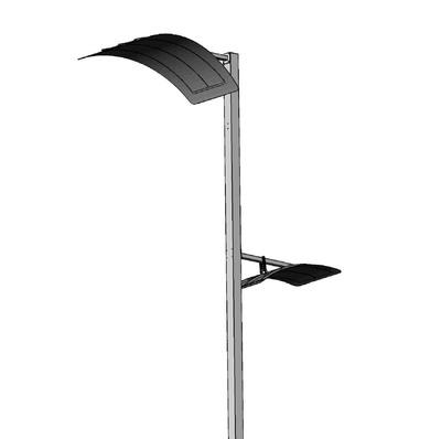 Парковый светильник Sky 561-42/w