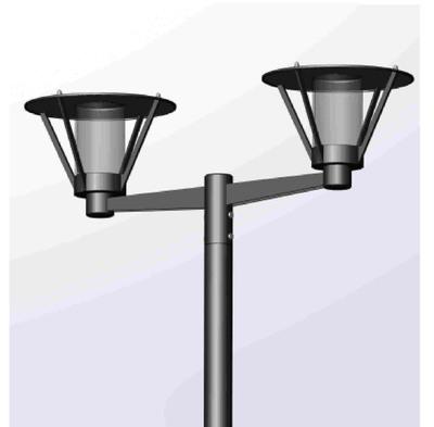 Парковый светильник Muse 650-42/b-03, Русские Фонари